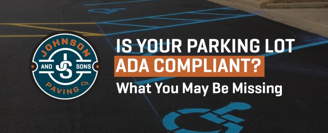 Is Your Parking Lot ADA Compliant