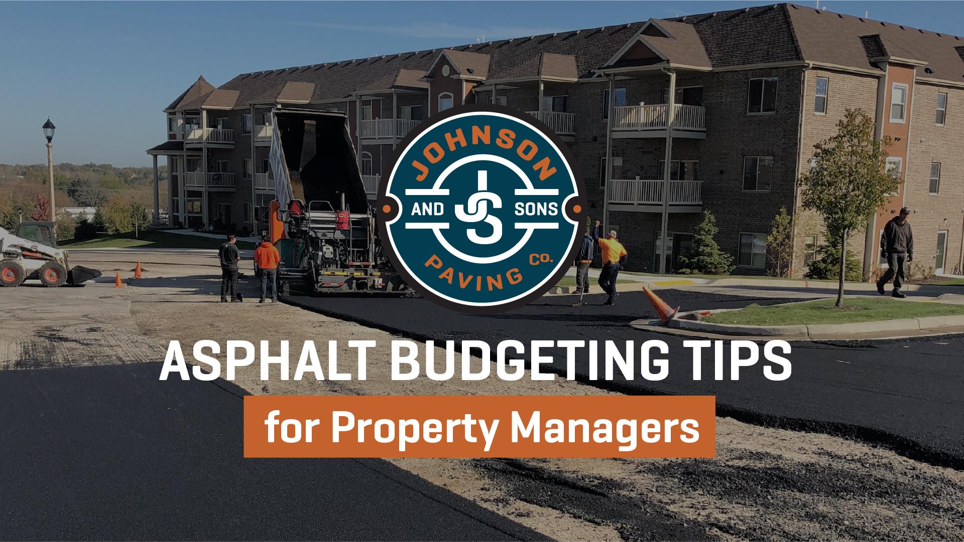 Asphalt Budgeting Tips
