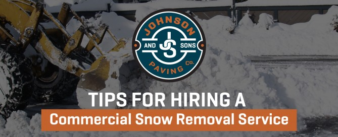 Tips for Hiring snow Removal