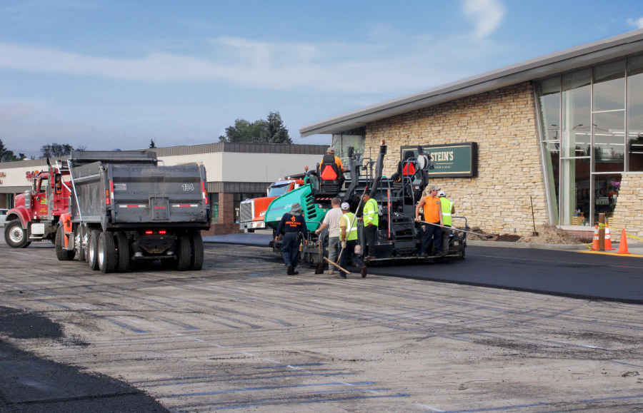 Quality commercial Paving