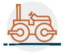 Asphalt Paving Icon