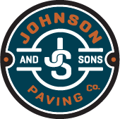 Johnson and Sons Paving Logo